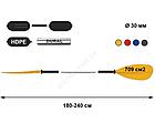 Трёхсекционное весло для байдарок и каяков tnp 702.3 Asymmetric, фото 2