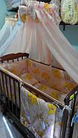 Комплект постельного белья для новорожденных, фото 1