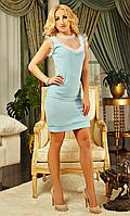 Роскошное приталенное платье Белинда