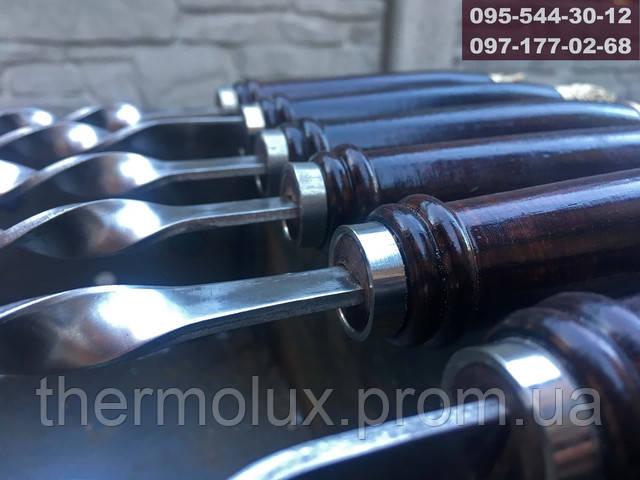 Деревянная ручка с кольцом жесткости