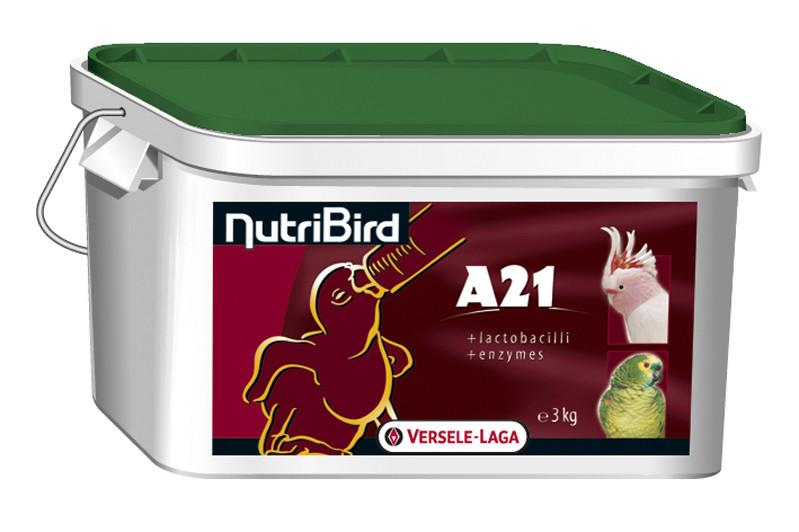 Versele-Laga (Верселе-Лага) NutriBird A21 НУТРИБЕРД 3кг - корм для ручного вскармливания птенцов