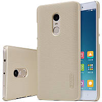Nillkin XIAOMI Redmi Note 4 Super Frosted Shield Gold Чехол Накладка Бампер
