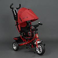 Велосипед 3-х колёсный Best Trike Красный арт. 6588 (колеса пена)