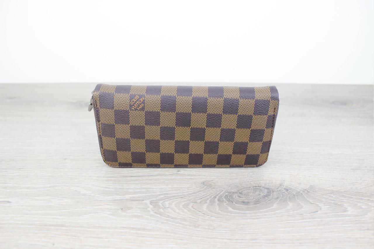 Мужской кошелек Louis Vuitton Zippy Vertical Gold, Копия  продажа ... 649857239c4