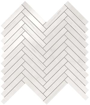Мозаика Atlas Concorde Marvel Bianco Dolomite Herringbone Wall