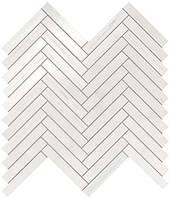 Marvel Bianco Dolomite Herringbone Wall