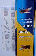 Липкая полоска от мух Bros Польша 100шт