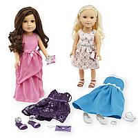 Куклы путешественницы 46см, набор 2 куклы с аксессуарами, Journey Girls Limited Edition из США
