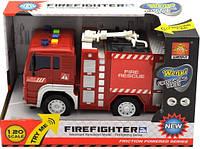 Инерционная Пожарная машина WY550A
