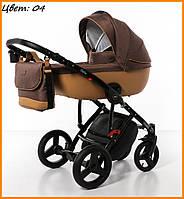 Детская коляска Broco Porto 2 в 1 04 коричневая