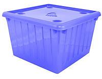 Емкость для хранения вещей с крышкой  Алеана (асорті) 25 л