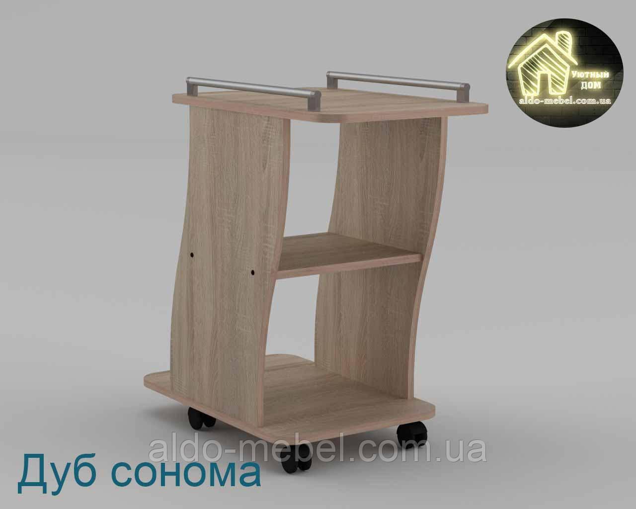 Стол журнальный Вена Габариты Ш - 750 мм; В - 706 мм; Г - 400 мм (Компанит)