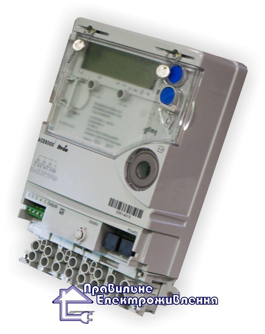 Лічильник електроенергії Itron ACE 6000+модем