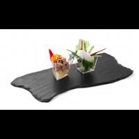 Блюдо сланцевое волнистое 200х100х5мм HENDI 424711 набор 2шт.