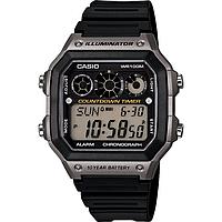 Мужские часы Casio AE-1300WH-8AVCF Illuminator Касио водонепроницаемые японские часы