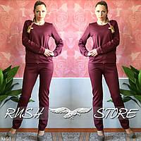 Повседневный женский костюм с брюками