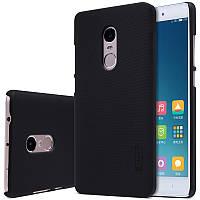 Nillkin XIAOMI Redmi Note 4 X / 4 Global Super Frosted Shield Black Чехол Накладка Бампер