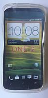 Накладка для HTC Z560e One S силікон Білий