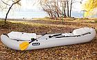 Облегченная надувная байдарка Ладья лб-300 базовая, одноместная, фото 9