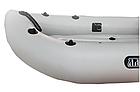Облегченная надувная байдарка Ладья лб-300 базовая, одноместная, фото 6