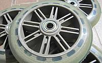 Колеса для самоката с подшипником 608Z CA-0002 (PU, пластик, d-120мм, цена за 1шт)