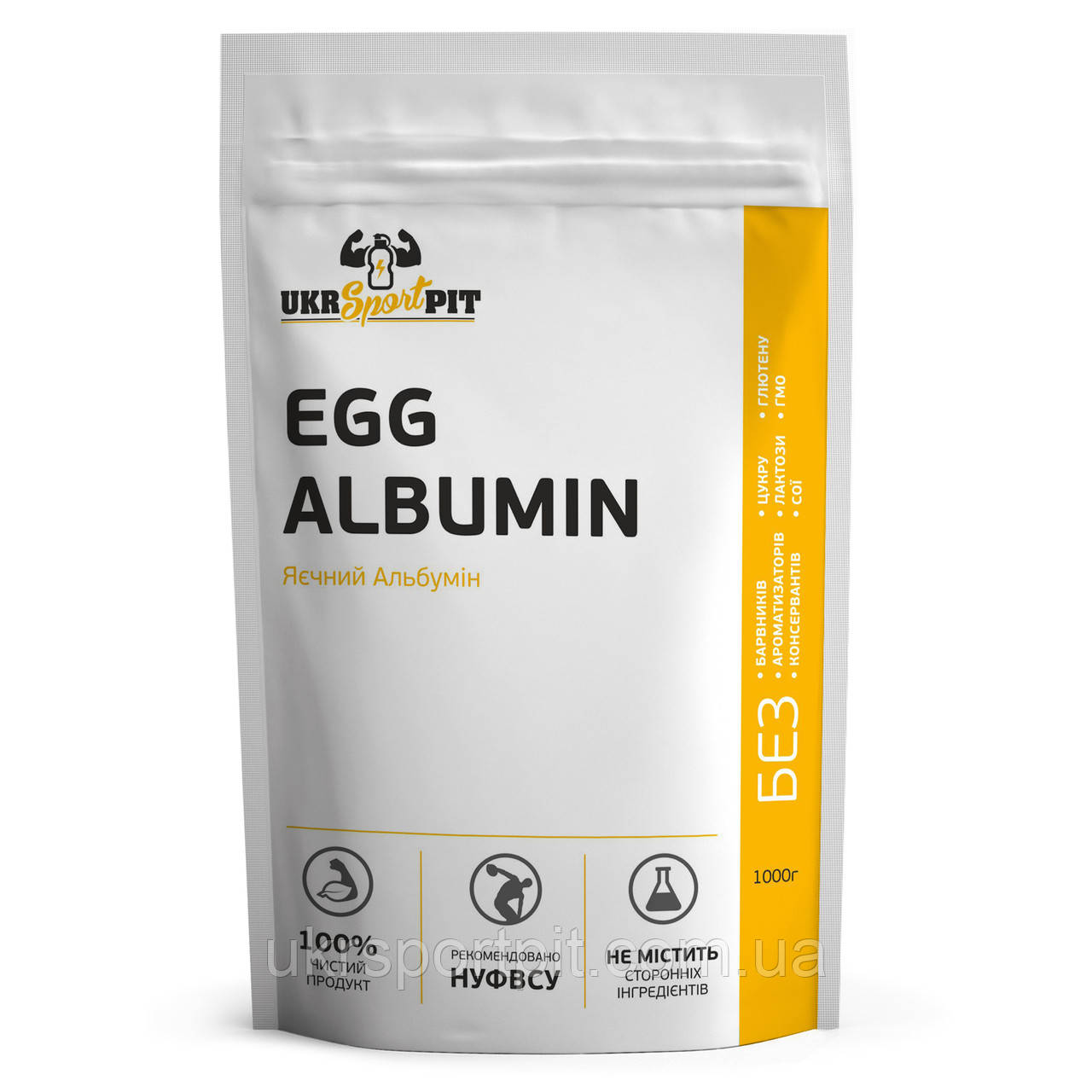 Яичный Альбумин Аргентина Tecnovo 1 кг
