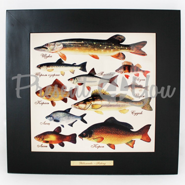 Панно настенное «Рыболовство»,28х28/20х20 см (263-5002B)