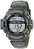 Мужские часы Casio SGW300HB-3AVCF Касио водонипроницаемые японские кварцевые