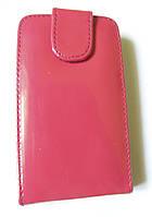 Чохол книжка для HTC Т 3333 Touch 2 Червоний лак