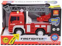 Инерционная Пожарная машина WY550В