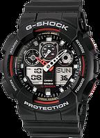 Мужские часы Casio G-Shock GA100-1A4 Касио водонипроницаемые японские кварцевые