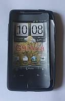 Накладка для HTC а6366 Aria силікон Чорний