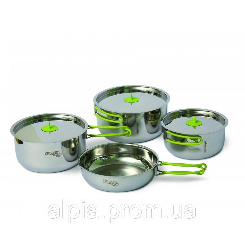 Набор посуды из нержавеющей стали Pinguin Trio L