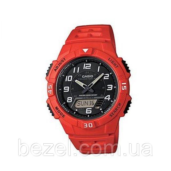 УЦЕНКА! Мужские часы Casio AQ-S800W-4BVCF Касио водонепроницаемые японские кварцевые