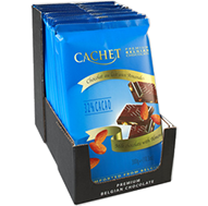 Молочный шоколад Сachet c миндалем, 300 гр