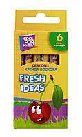 """Крейда воскова """"Fresh Ideas"""", 6 кольорів"""