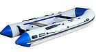 Надувная лодка Шторм модель Evolution Stk400e четырехместная моторная, фото 2
