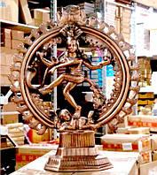 """Статуя силуминовая дутая """"Натарадж"""" (58х47х18 см)"""