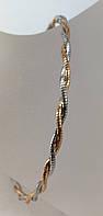 Золотой браслет 585 проба 18,5 см