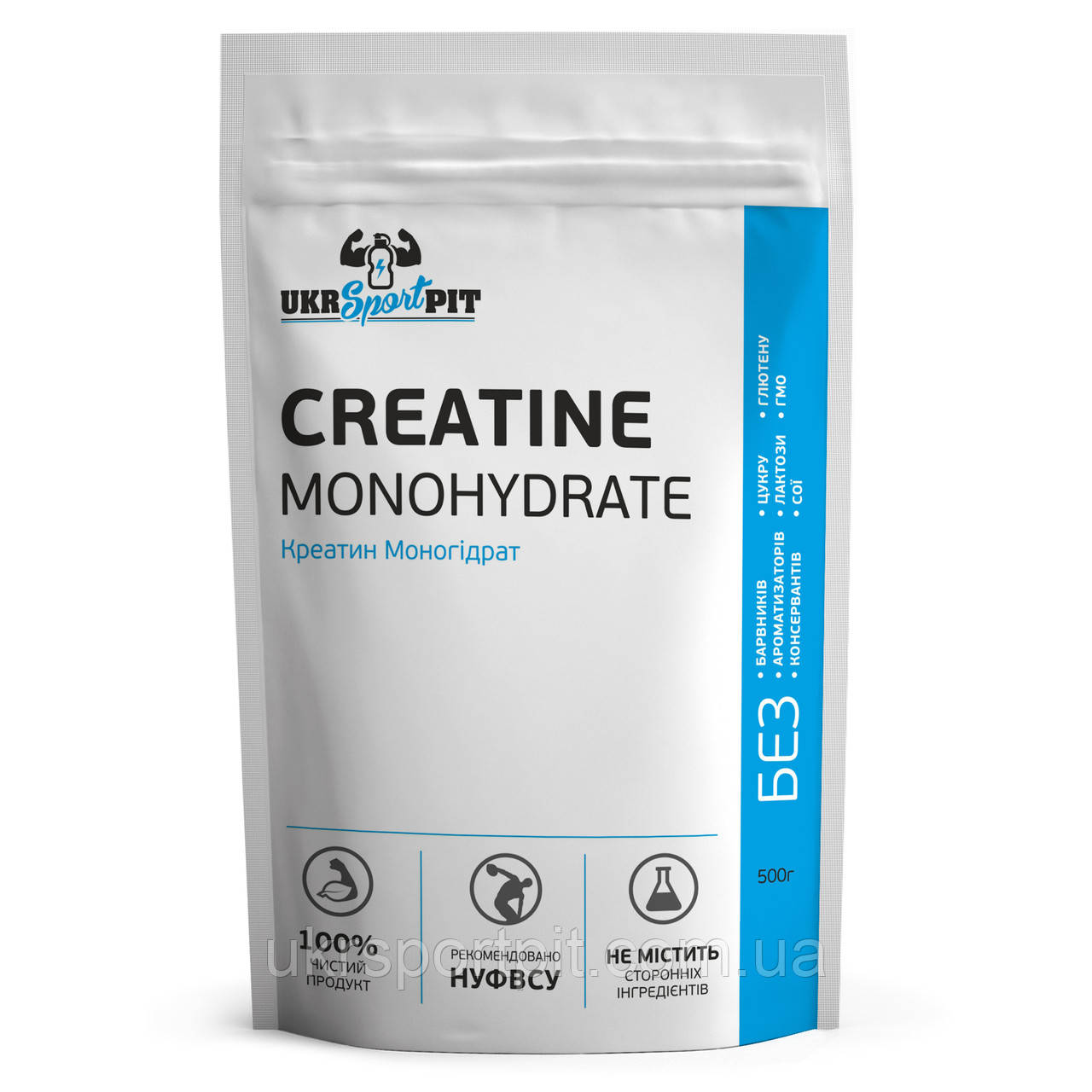 Креатин Моногидрат (Creatine Monohydrate) 500г