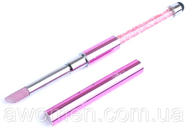 Кварцевый карандаш для кутикулы (розовый)