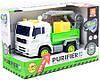 Инерционный грузовик со световыми и звуковыми эффектами WY520 С