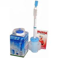 Аппарат дыхательный  (Тренажер физкультурный имитатор - капникатор) (Самоздрав)