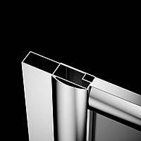 Дополнительный профиль Dolphi Classic хром +40 мм