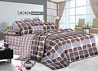 Семейный комплект постельного белья сатин (7518) TM KRISPOL Украина