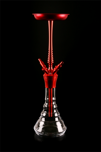Кальян Kaya Clear ELOX 630CE Pyramid Red 4S