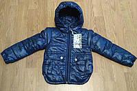 Детская осенняя курточка-жилетка для мальчиков.