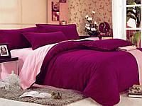 Красивое однотонное постельное бельё Valtery MO-3 CB18