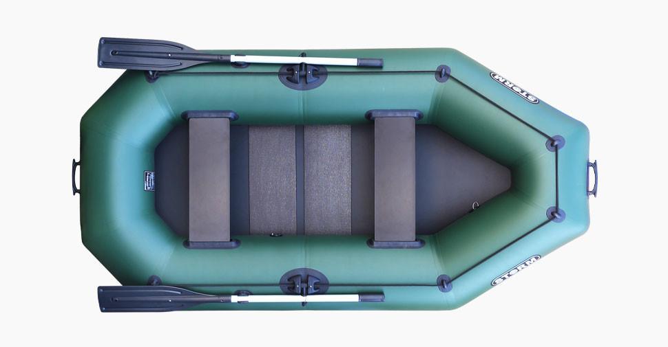 Надувная лодка  Шторм ss 300 r трехместная гребная