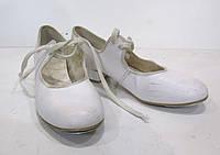 Туфли танцевальные RV для степа 3 (22 см), Кожзам